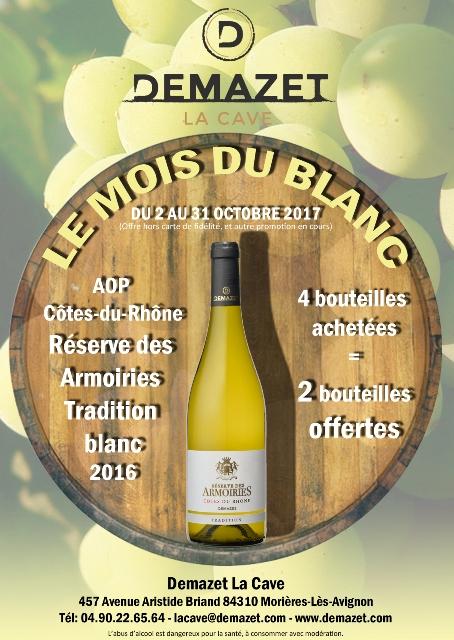 Le mois du blanc demazet vignobles - Mois du blanc 2017 ...